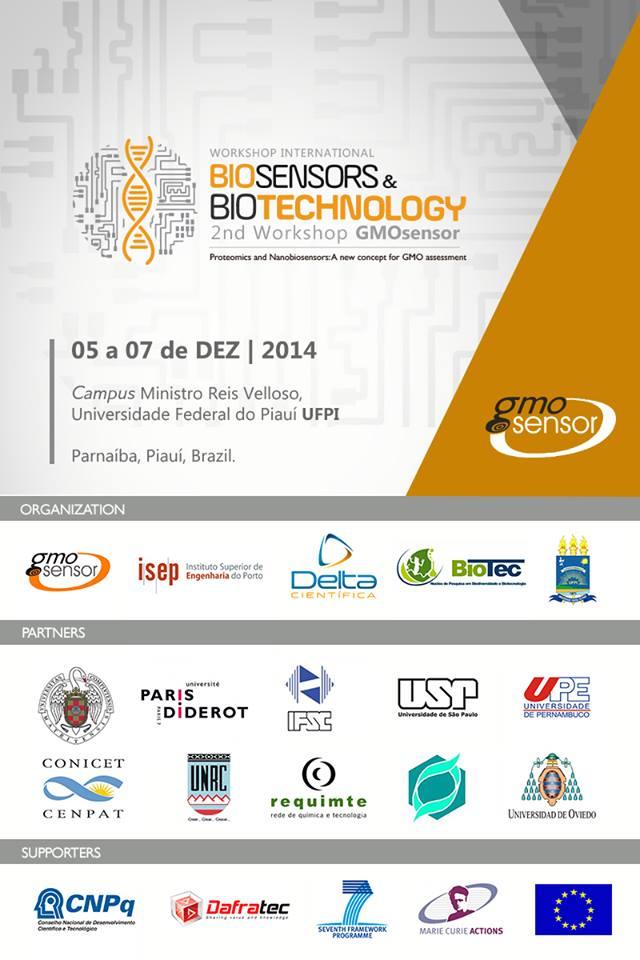 últimos eventos - GMOsensor Cartaz
